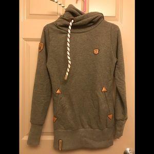 Naketano Green Marled Sweatshirt XS
